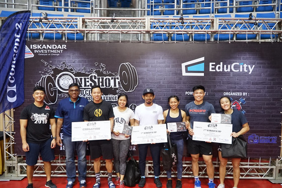 One Shot EduCity Fitness Challenge Dangles Cool RM10,000 Rewards