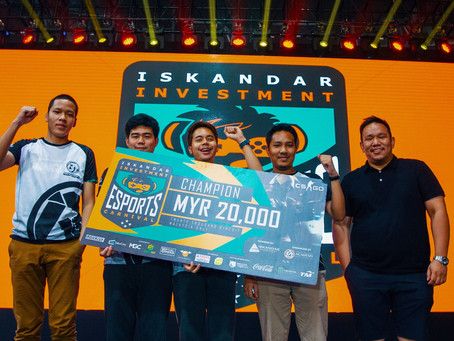 Iskandar Investment Esports Carnival's RM150K Reward Gone in One Weekend!