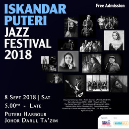 Iskandar Puteri Jazz Festival Returns on 8 September 2018