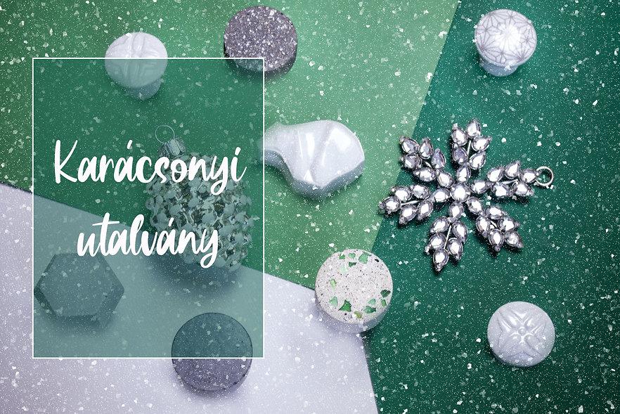 karácsonyi utalvány webshop nyitó oldal.