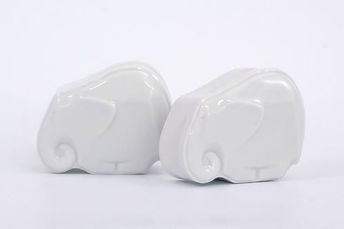 Porcelán fogantyú elefánt