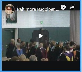Maryland Bagpiper Francis Wallace School
