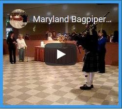 Maryland Bagpiper Happy Birthday Santa M