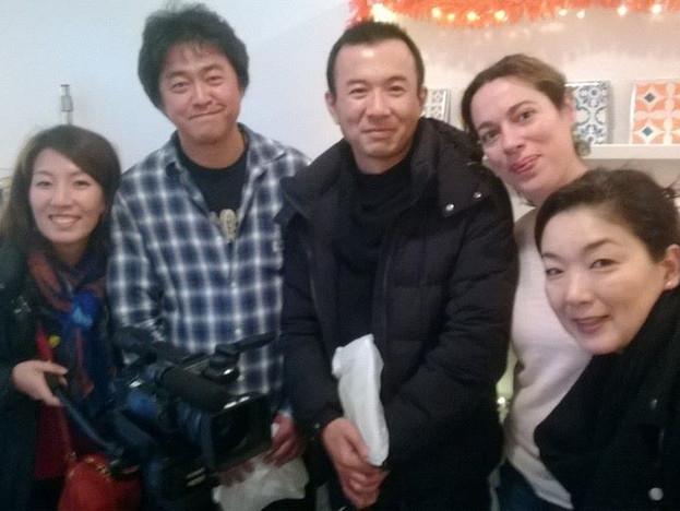 ENTREVISTA TV JAPONESA KANSAI