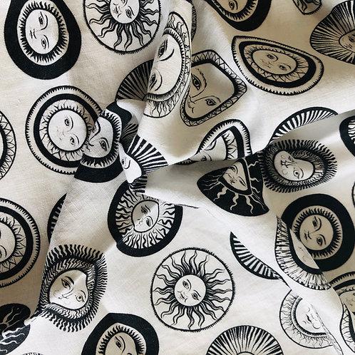 Many Suns - 100% Linen Tea Towel