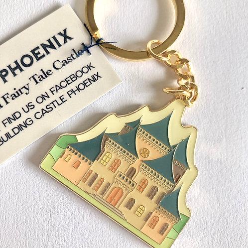 Castle Phoenix Key Ring