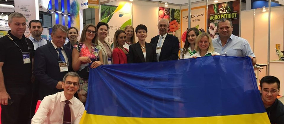 Ukrainian companies took part in specialized exhibition Food ingredients in Japan for the first ti