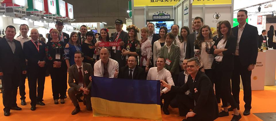 The first Ukraine pavilion was successfully held at FOODEX Japan 2019 exhibition