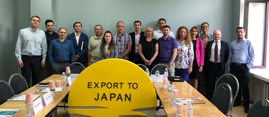 COIN розроблятиме дорожню карту з розвитку food&agro експорту в Японію