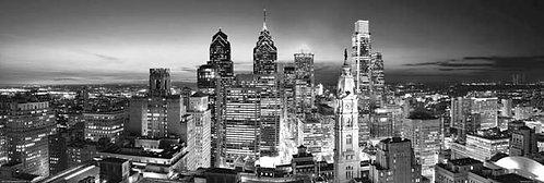 Philadelphia Skyline at Sunset - 167PMBW