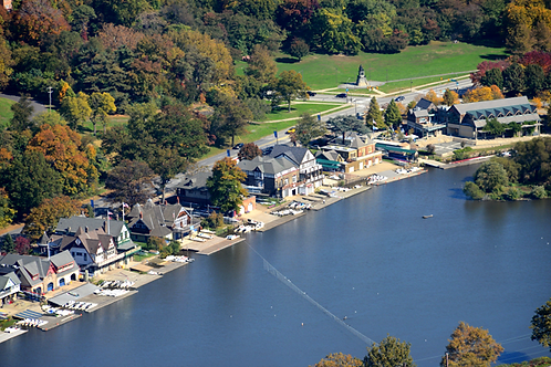 Boathouse Row Aerial - 505L