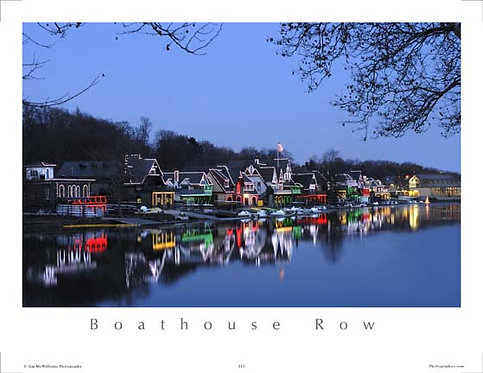 Boathouse Row Holiday Lights - 118S
