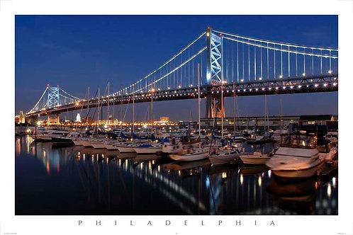 Benjamin Franklin Bridge - 151L