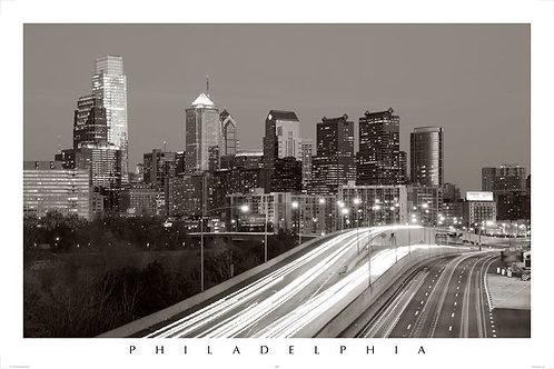 Philadelphia Skyline - 149LBW