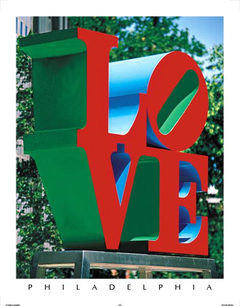 "Love Park - 130M (22"" x 28"")"