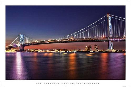 Benjamin Franklin Bridge - 166L