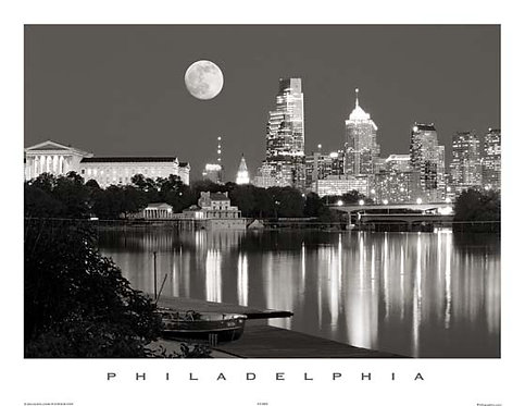 Moon Over Philadelphia - 136SBW