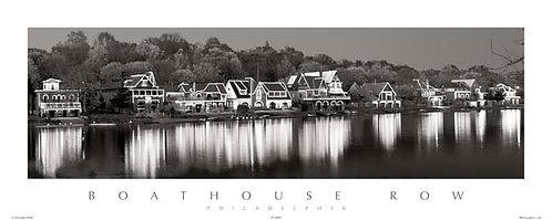 Boathouse Row - 158PSBW
