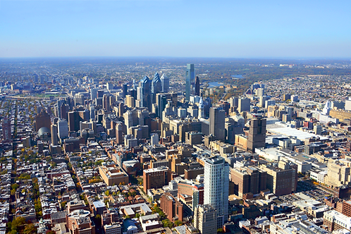 Philadelphia Looking West - 500L