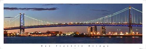 Benjamin Franklin Bridge - 182PM