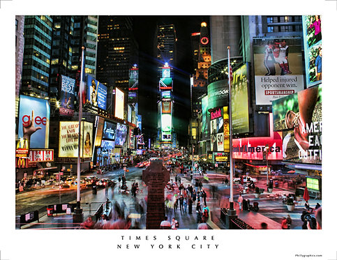 Times Square, New York City - 807S