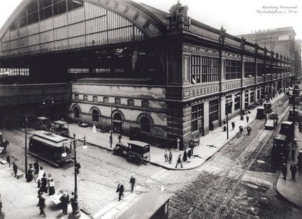 "Reading Terminal, c. 1910 - 707H (16"" x 22"")"