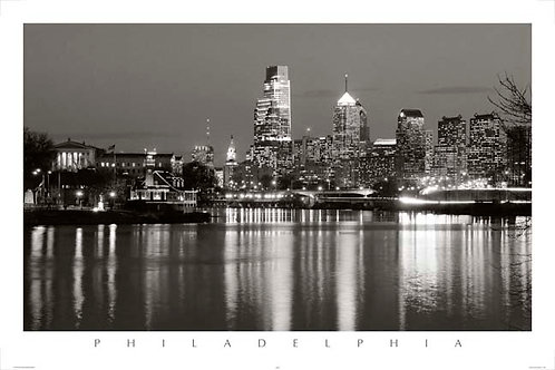 Philadelphia Skyline - 148LBW