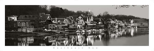Boathouse Row Holiday Lights - 118PXLBW