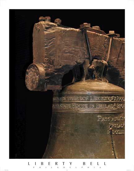 "Liberty Bell - 107M (22"" x 28"")"