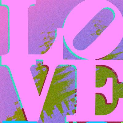 Pink, Purple, Green - LOVE303