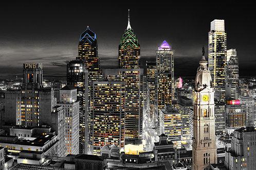 Philadelphia Skyline - 167LD