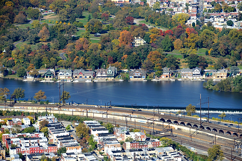 Boathouse Row Aerial - 508L