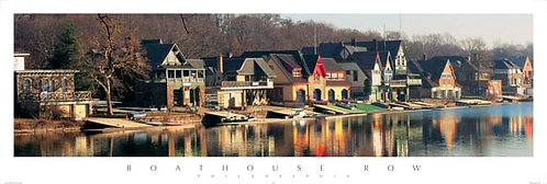 Boathouse Row - 145PM