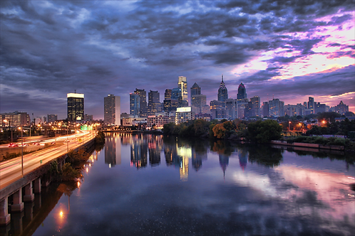 Philadelphia Sunset- 201XL