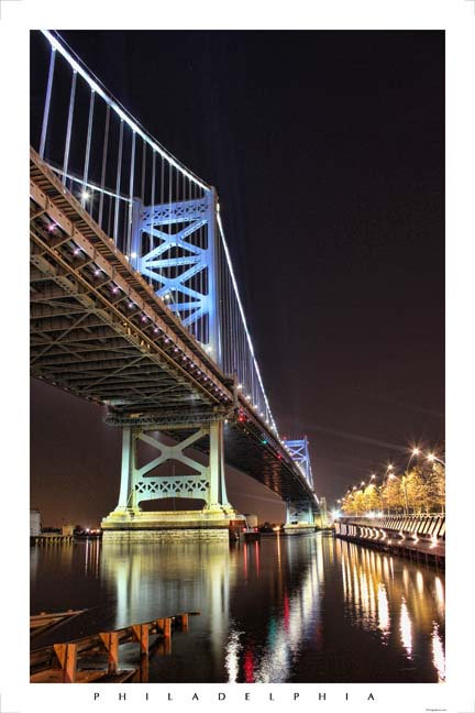 Benjamin Franklin Bridge - 178L