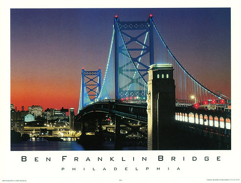 Benjamin Franklin Bridge - 138S