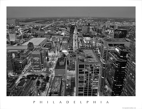 Philadelphia Aerial - 200BWS