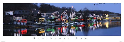 Boathouse Row Holiday Lights - 118PM
