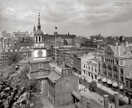 "Independence Hall, c. 1910 - 702H (18"" x 22"")"