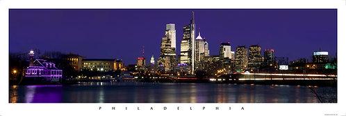 Philadelphia Skyline-Night2-321PM