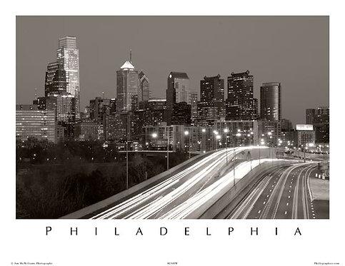 Philadelphia Skyline - 149SBW