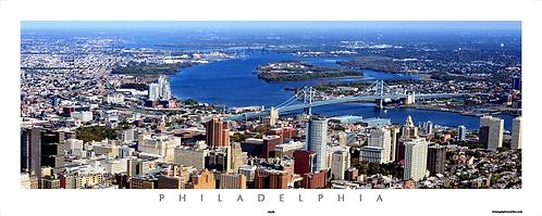 Philadelphia Aerial View - 172PS