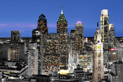 Philadelphia Skyline - 167LB