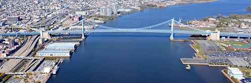 Benjamin Franklin Bridge Aerial - 515PXL
