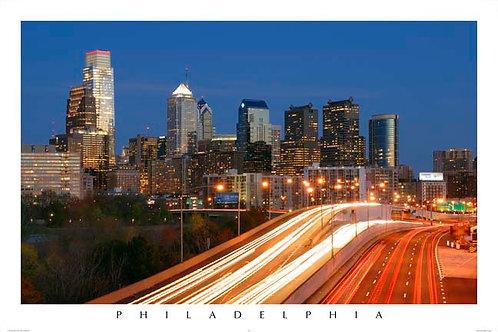 Philadelphia Skyline - 149L