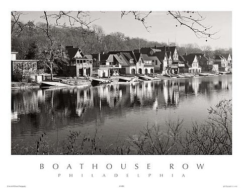Boathouse Row - 145SBW