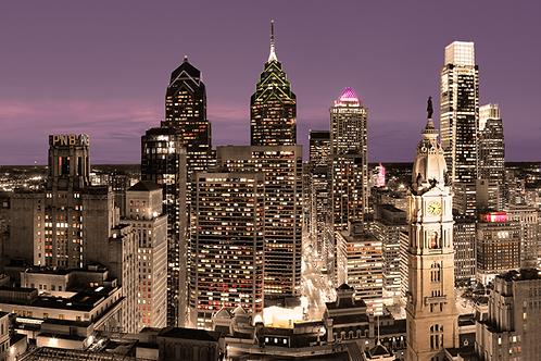 Philadelphia Skyline - 167LC