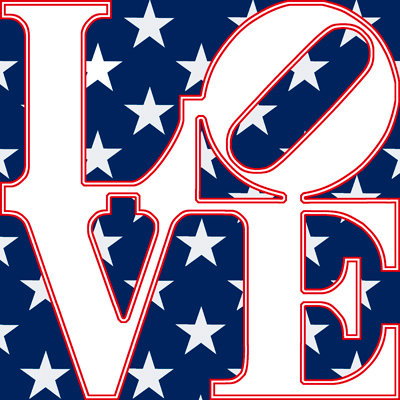 American Flag - LOVE311