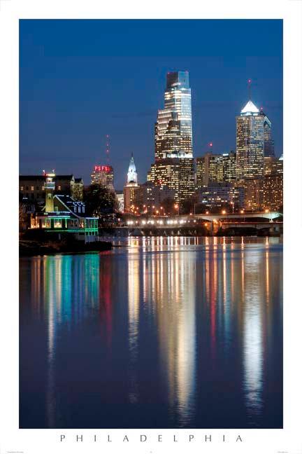 Philadelphia Skyline - 150L