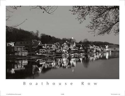 Boathouse Row Holiday Lights - 118SBW